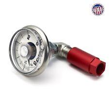 Gm Fuel Rail Pressure Gauge Kit for Fuel Service Ports (Retains Schrader Valve)