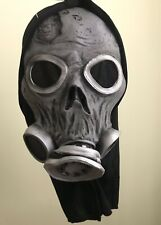 Amscan Adult Zombie Gas Mask With Hood Halloween Costume Accessory