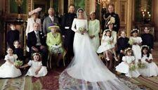 "PRINCE HARRY AND MEGHAN MARKLE FAMILY WEDDING PHOTO FRIDGE MAGNET 5"" X 3.5"""