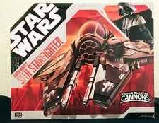 """Star Wars The 30th Anniversary Collection 3 3/4"""" Darth Vader's Sith Starfighter"""