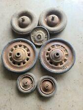 New ListingLot Of Vintage Pedal Car Wheels Parts