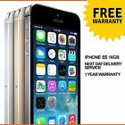 Apple iPhone 5S 16GB Factory Unlocked Sim Free Smartphone - Various Colours