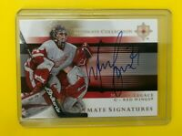 Manny Legace - 2005-06 Ultimate Collection Signatures Auto Detroit Red Wings