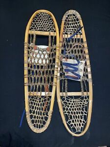 Vintage Snowshoes 10/36 Inch Made In Canada Nice