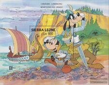 Sierra Leone Sierra-léonais Bloc 53 Neuf Avec Gomme Originale complète Edition