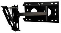 "B-Tech BT8003B Black Heavy Duty Dual Arm Wall Mount Bracket for 32"" to 60"" TV's"