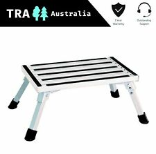 Portable Folding Step Caravan Camping Rv Accessories Ladder Steel Clothes Line