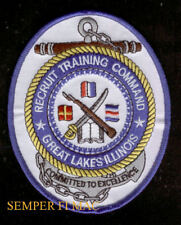 US NAVY NAVAL TRAINING CENTER NTC GREAT LAKES PATCH BOOT CAMP BASIC PIN UP GIFT