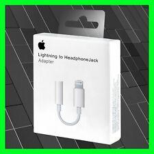 Original Apple Lightning Kopfhörer Adapter Für iPhone 7 8 X XS XR 11  MMX62ZM/A