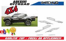 Stickers stickers kit Replica Rally raid nissan navara 1998 2005 decals