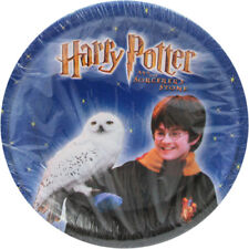 HARRY POTTER Sorcerer's Stone SMALL PAPER PLATES (8) ~ Birthday Party Supplies