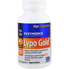 Enzymedica - Lypo Gold, For Fat Digestion, 120 Capsules