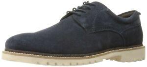 NEW Rockport Marshall Plain Toe Oxford, Dress Blue Suede, Men Size 12 M $125