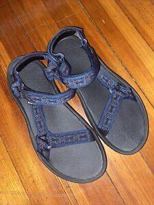 Men's Teva Sandals Navajo Blue SZ 11