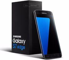 Totalmente Nuevo Samsung Galaxy S7 Edge SM-G935 - 32GB-Negro (Desbloqueado) Teléfono Inteligente