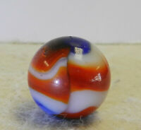 #12985m Vintage Peltier Glass Liberty Marble .63 Inches