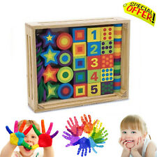 Autism Sensory Toy Wooden Lacing Beads Special Educational Needs Box Set