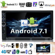 "7"" 2DIN Touch Screen 1080P Full HD Android WIFI Car Auto GPS FM Radio MP5 Player"