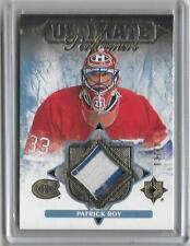 PATRICK ROY 2016/17 ULTIMATE PERFORMERS  2 COLOR PATCH #3/10 -CANADIANS!!!