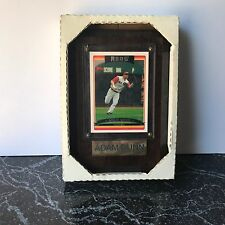 Adam Dunn Cincinnati Reds Baseball Card in Display Case Autographed
