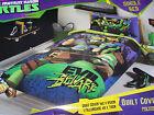 Teenage Mutant Ninja Turtles TMNT Kowabunga Single Bed Quilt Cover Set New