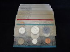5 - 1963 P & D Mint Sets - 50 Coins Total   Uncirculated - Mint Packaging  #1