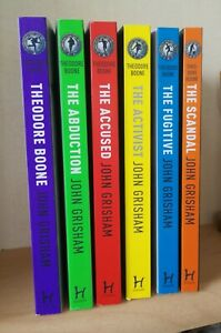 John Grisham Theodore Boone Series - 6 Books - Paperback - as new, read once