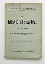 Russland Polen Zar Nikolaus I. Aufstand Kongresspolen Diebitsch Modlin Warschau