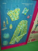 Barbie I Need My Beauty Sleep Pajamas Fashion Avenue Charm Accessories 2001