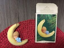 Hallmark Betsey Clark 1983 Ornament Baby Sleeping On Moon