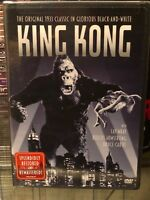 King Kong (DVD) Fay Wray, Robert Armstrong, Bruce Cabot, Original 1933 Classic!