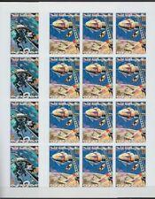 Ajman 1971 ** Mi.964/69 B (Bogen, sheet) Weltraum Raumfahrt Space