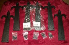 "Lot of 6 Strip Hinges Iron Horse, New 10""L"