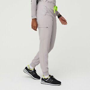 FIGS Women's Slate Zamora High Waisted Jogger Scrub Pants Medium