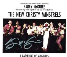 BARRY MCGUIRE'S STORE - NEW CHRISTY MINSTRELS LIVE 1994 NEW - SIGNED BY BARRY