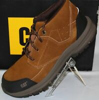 CAT RESOLVE MID COMPOSITE TOE & ELECTRICA SAFETY  MEN'S WORK SHOE, BROWN, P91036
