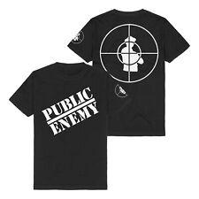 PUBLIC ENEMY - Logo Schwarz T-Shirt