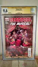 Deadpool #49.1 (The Musical) CGC 9.6 AUTOGRAPHED by FABIAN NICIEZA