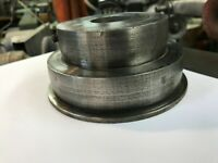 Antique Vintage Machinist Metal Lathe Drill Press Flat Belt Step Pulley