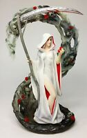 Anne Stokes Life Blood Gothic Female Grim Reaper with Scythe Statue Sculpture