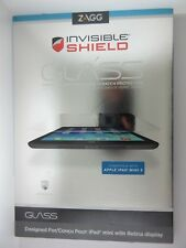 NEW ZAGG InvisibleShield Glass iPad Mini 3 & Mini w/ Retina 1 2 3 IM2GLS-F00