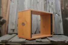 8U Desktop Studio Rack Cedar