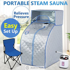 Portable Steam Sauna Tent w/ Head Cover Blue/Grey CE/SAA PLUS/SAFETY Approved