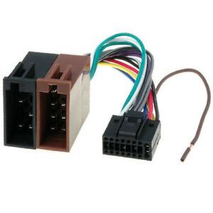 Cable adaptateur ISO autoradio KENWOOD DDX35 DDX42BT DDX3021 DDX3023 DDX3051