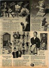 1965 ADVERT Herman Lily Munster Hand Puppet Magilla Gorilla Ricochet Rabbit