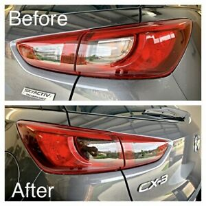 Fits Mazda Cx3 Tail Light - Reverse & Indicator Black Out Die Cut Tint Kit