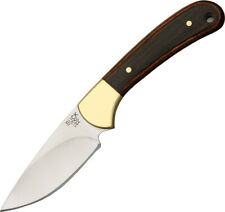 Buck Ranger Skinner Fixed Blade 420hc Skinning Hunting Knife 113brs Sheath