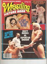 Wrestling 1978 Magazine WWF NWA RACE Sheik Graham Backlund picture book VINTAGE