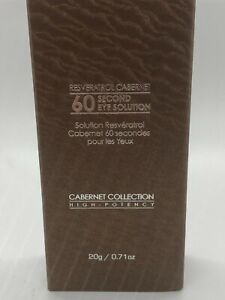 New Vine Vera Resveratrol Cabernet 60 second Eye Solution 20g-- LOOK  YOUNG