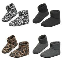 Dunlop Warm Fluffy and Cosy House Boots Slippers for Men